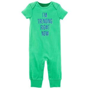 Carters Baby Boy Cotton Jumpsuit Pajamas Clothes